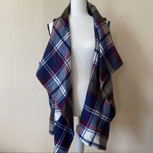 NWOT - Natural Reflections Plaid cardigan Sz 2XL